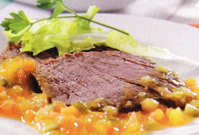 Receita de cupim fatiado ao molho de mostarda