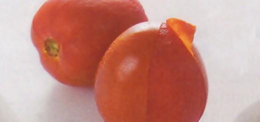 Como retirar a pele do tomate