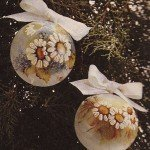Bolas floridas