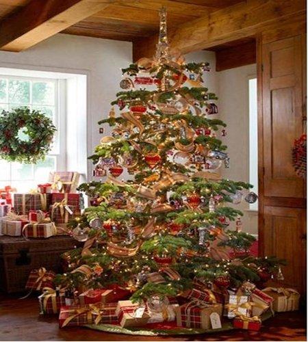 decoracao arvore de natal dicas:Dicas de decoração de árvores de Natal com presentes – Receitas