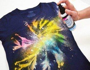 Como fazer estampa galaxy