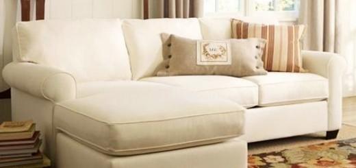 Como limpar o sofá em cas