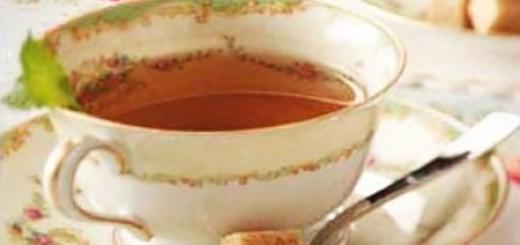 Receita de chá de alecrim, hortelã e lavanda