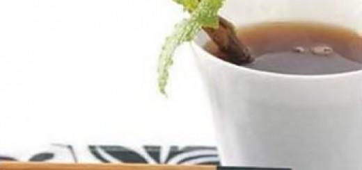 Receita de chá de limão e canela