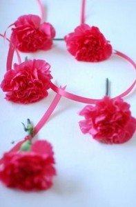 Como fazer corsages para os convidados