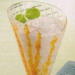 Receita de milk shake de coco