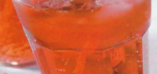 Receita de coquetel de soda e groselha