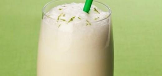 Milk-shake de limão e iogurte
