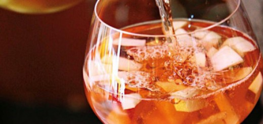 Receita de sangria tradicional de vinho tinto