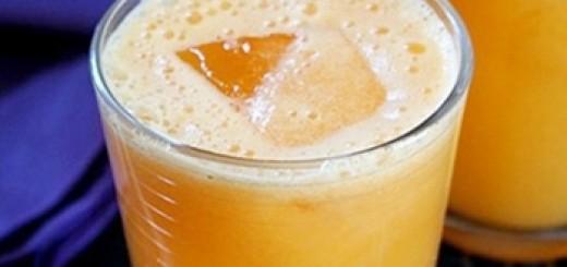Receita de suco antioxidante de abacaxi e cenoura