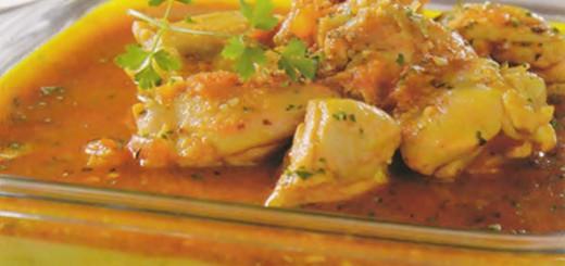 Receita de frango com polenta