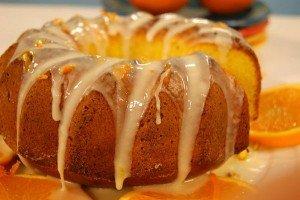 Receita de bolo de laranja com casca