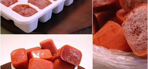 Como fazer molho de tomate congelado