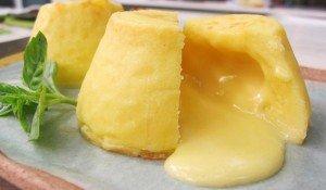 Receita de petit gateau de queijo