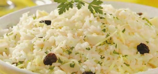 Receita de arroz de ano novo