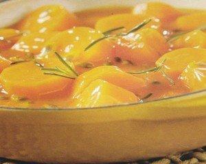 Receita de cenoura ao molho de maracujá