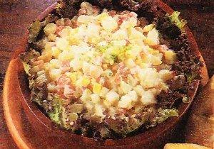 Receita de salada de maionese