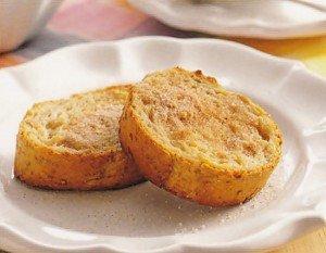 Receita de rabanada de pão integral