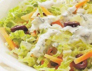Receita de salada de acelga