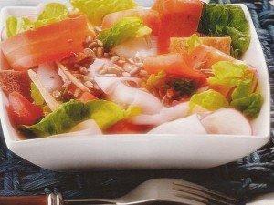 Receita de salada de peito de peru