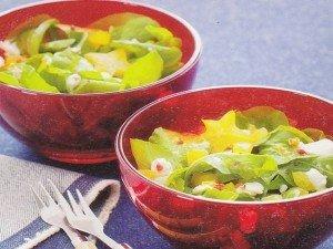 Receita de salada de rúcula especial
