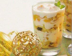Receita de sobremesa de natal com panetone