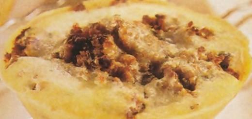 Receita de tortinha de carne moída