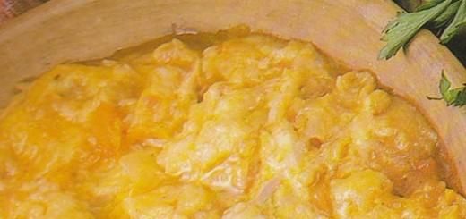 Receita de vatapá de frango