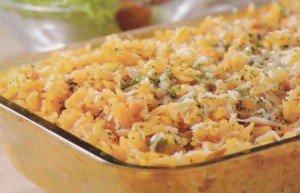 Receita de arroz de minuto
