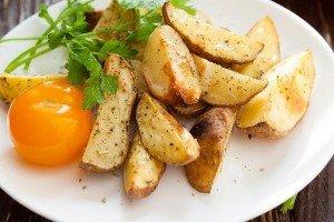 Receita de batata frita ao forno