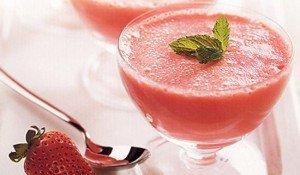 Receita de gelatina com iogurte