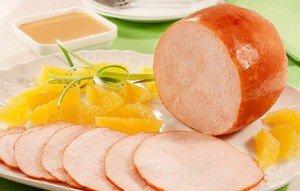 Tender de peru com laranja