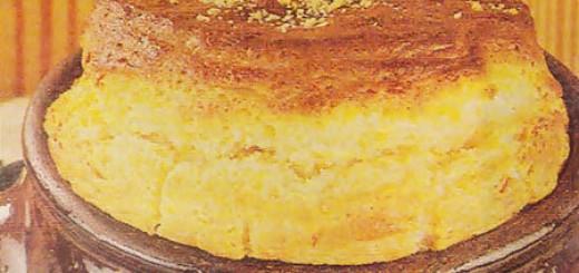 Receita de suflê de cenoura e queijo