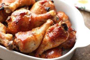 Receita de frango ao molho de soja