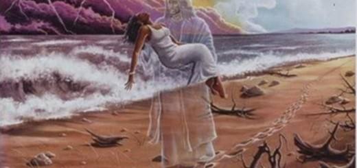 Pegadas na areia - Reflexão