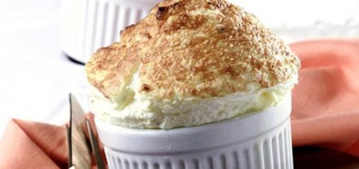 Receita de suflê de queijo