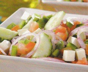 Receita de salada grega
