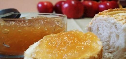 Receita de geleia de maçã