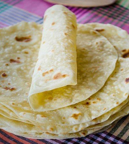 Receita de massa básica para tortilha