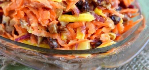 Receita de salada de cenoura