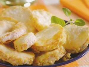 Receita de bem-casado de presunto e queijo