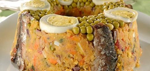 Receita de cuscuz paulista com sardinha