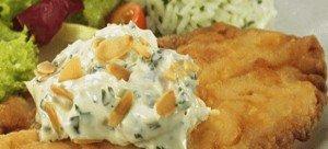 Receita de filé de peixe com molho de maionese