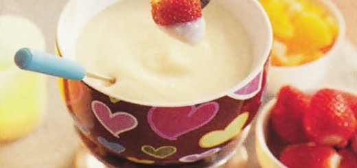 Fondue de chocolate branco