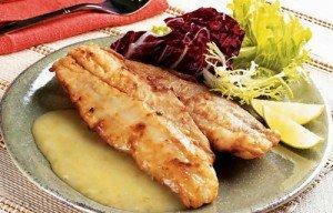 Receita de pescada com molho de limão