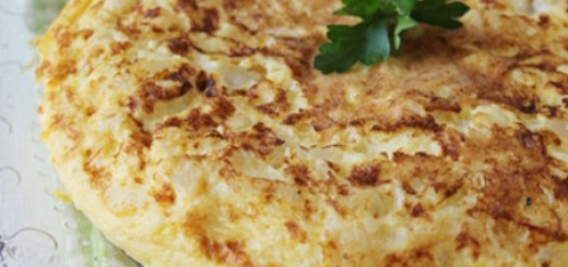 Receita de tortilha de bacalhau