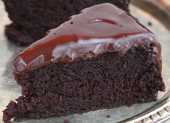 Receita de bolo de chocolate e café