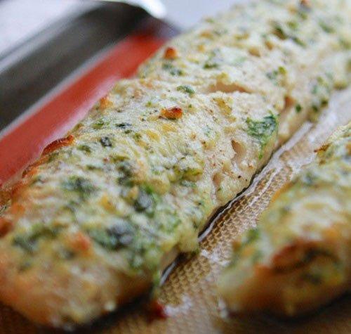 Receita de filé de peixe ao forno
