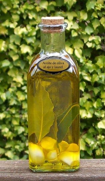 Receita caseira de azeite aromatizado