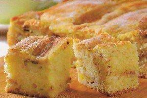 Receita de bolo de banana
